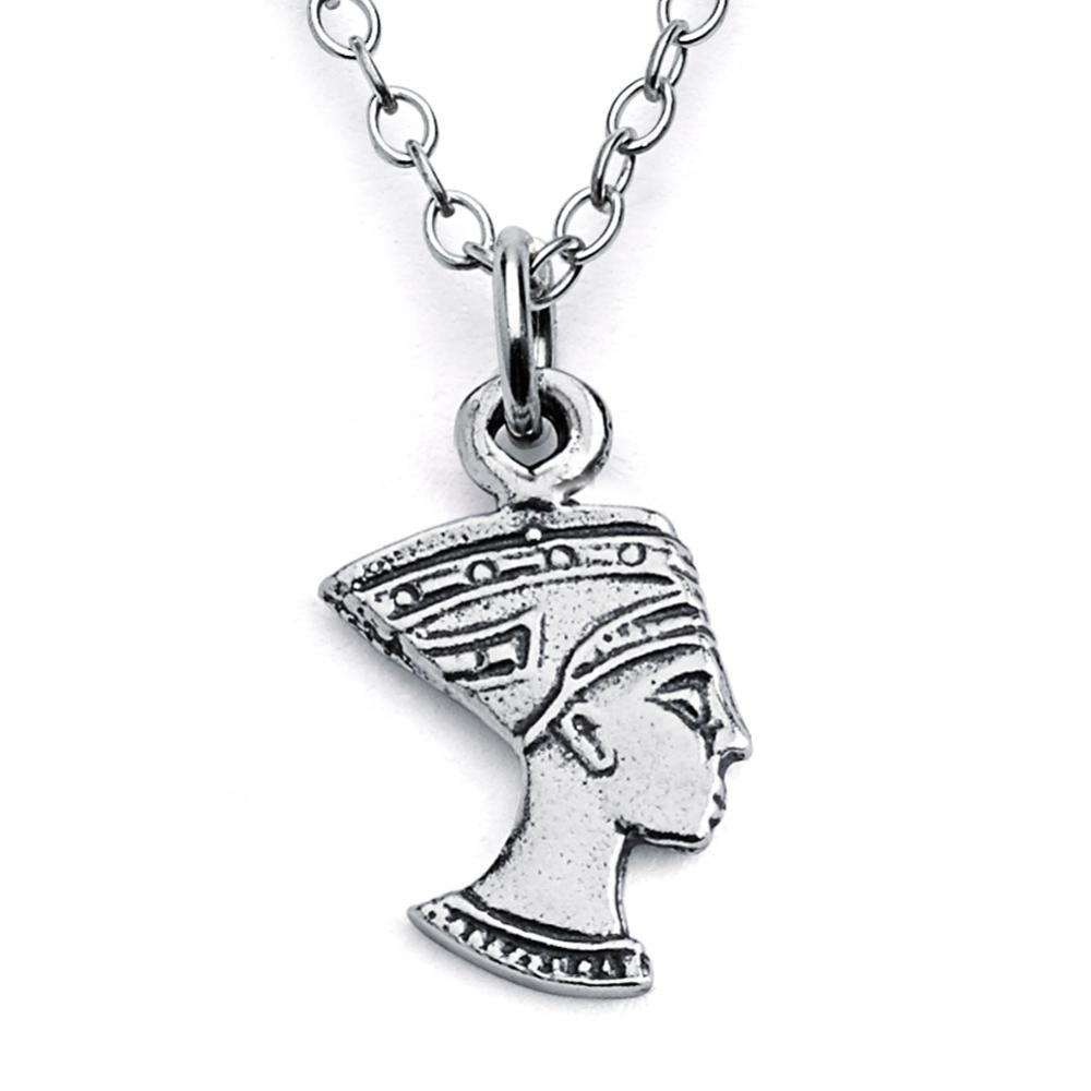 925 sterling silver necklace Nefertiti Ancient Egyptian Queen