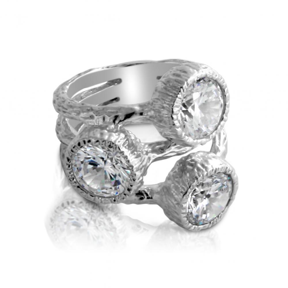 8mm AZAGGI 925 Sterling Silver Wedding Ring Band 6