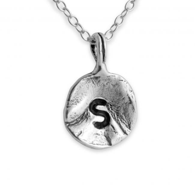 925 sterling silver necklace Letter S Passion Initial