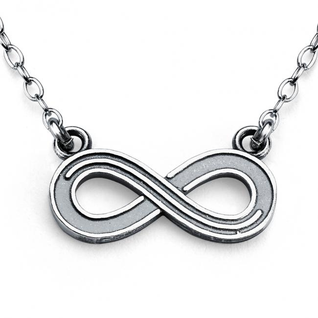 925 sterling silver necklace Infinity Symbol