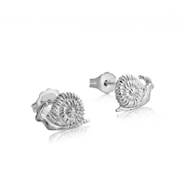925 sterling silver earrings Snails