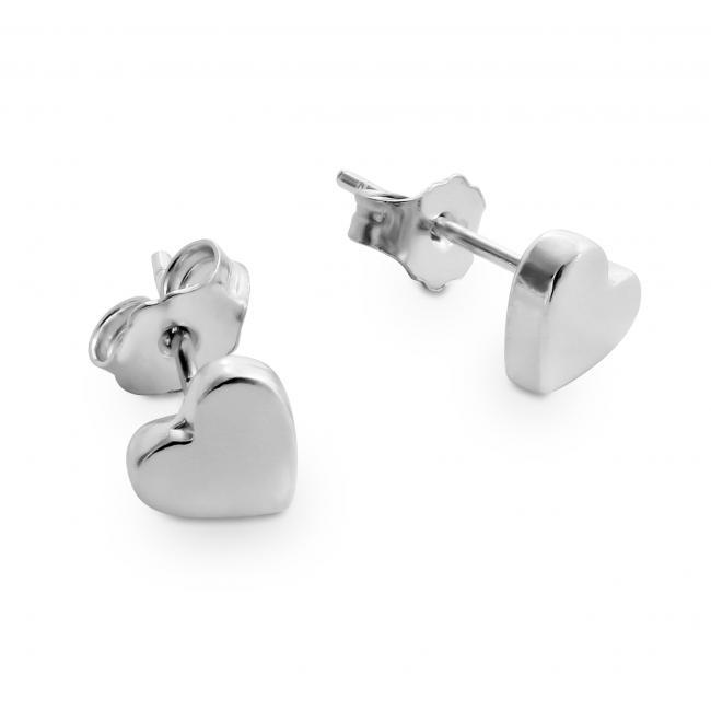 925 sterling silver earrings Cute Heart