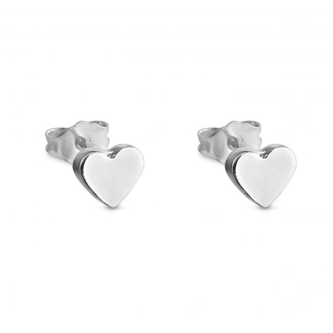 925 sterling silver earrings Cute Heart