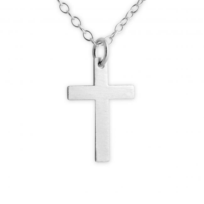 925 sterling silver necklace Cross