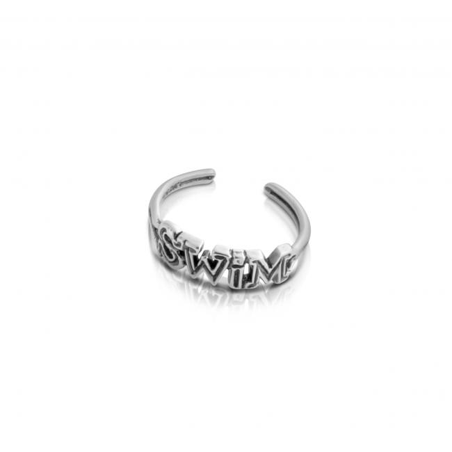 925 sterling silver ring SWIM Adjustable Toe Ring