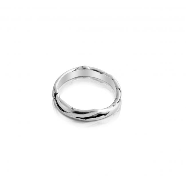 925 sterling silver ring Textured Ring