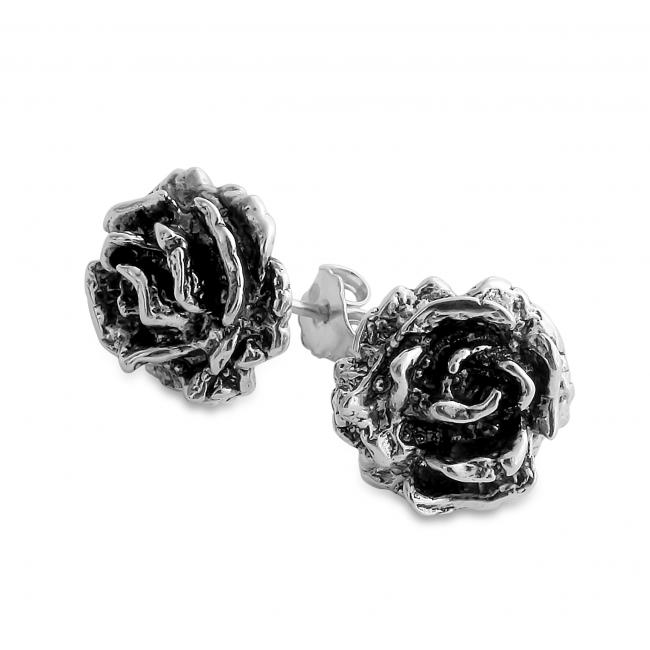 925 sterling silver earrings Rose