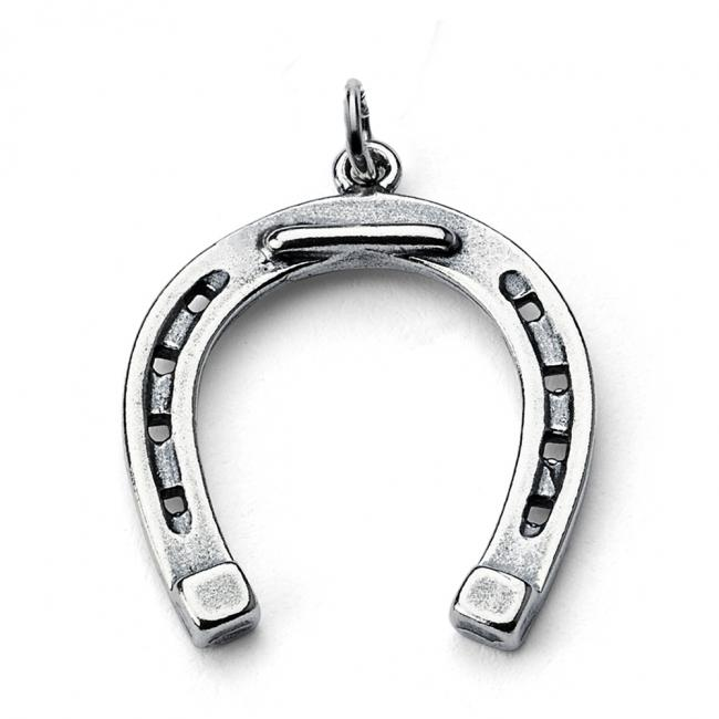 925 sterling silver necklace Lucky Realistic Horseshoe