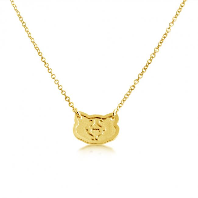 Gold plated necklace Taurus Zodiac Sign