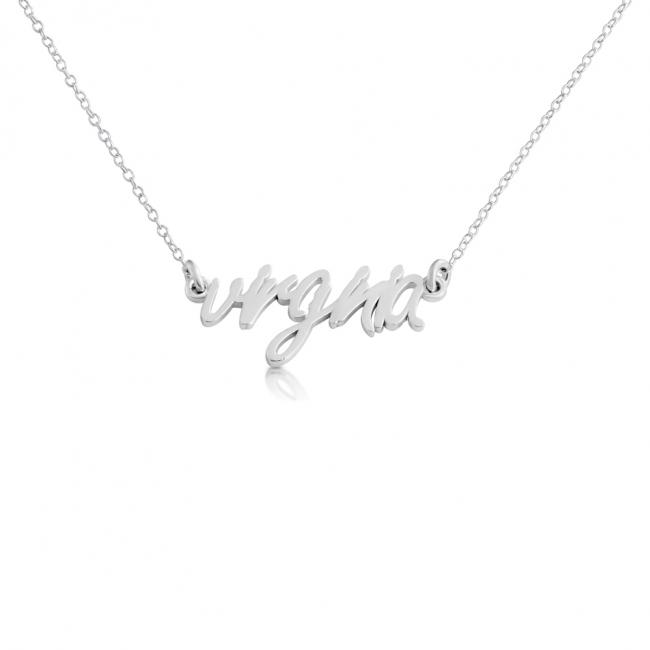 925 sterling silver necklace Virginia State