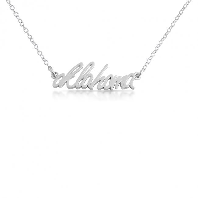 925 sterling silver necklace Oklahoma State