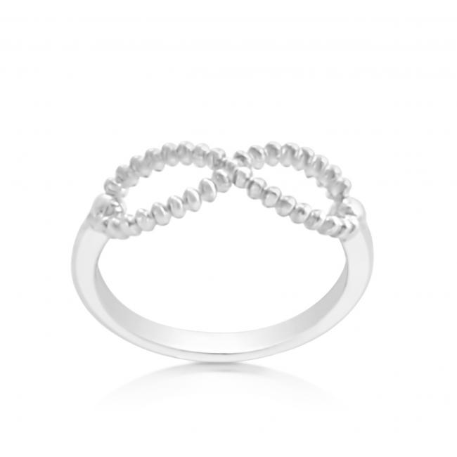 925 sterling silver ring Infinity
