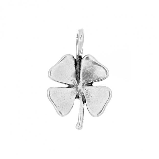 925 sterling silver necklace Four Leaf Clover Irish Lucky