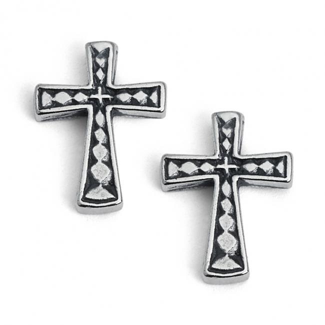 925 sterling silver earrings Holy Cross