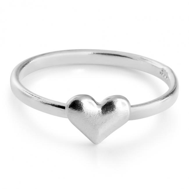 925 sterling silver ring Heart