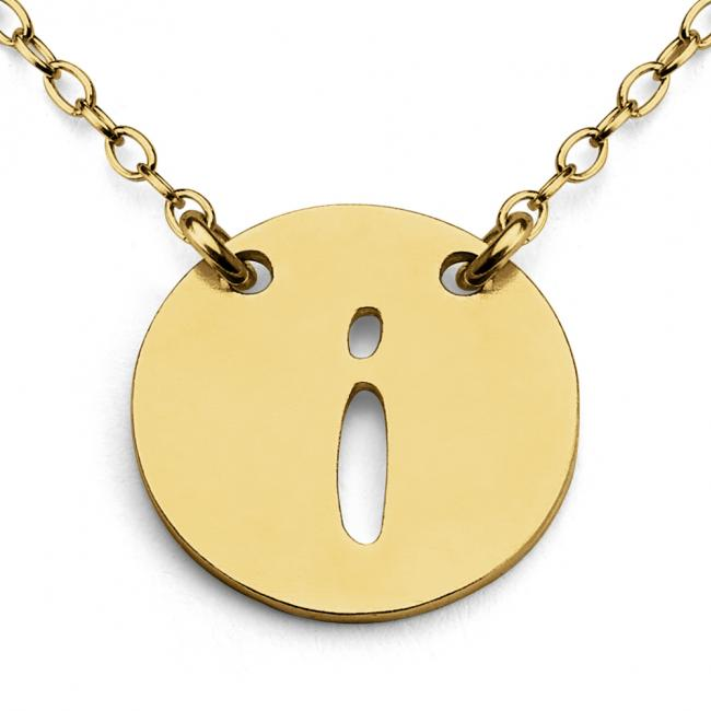 Gold plated necklace I Open Letter