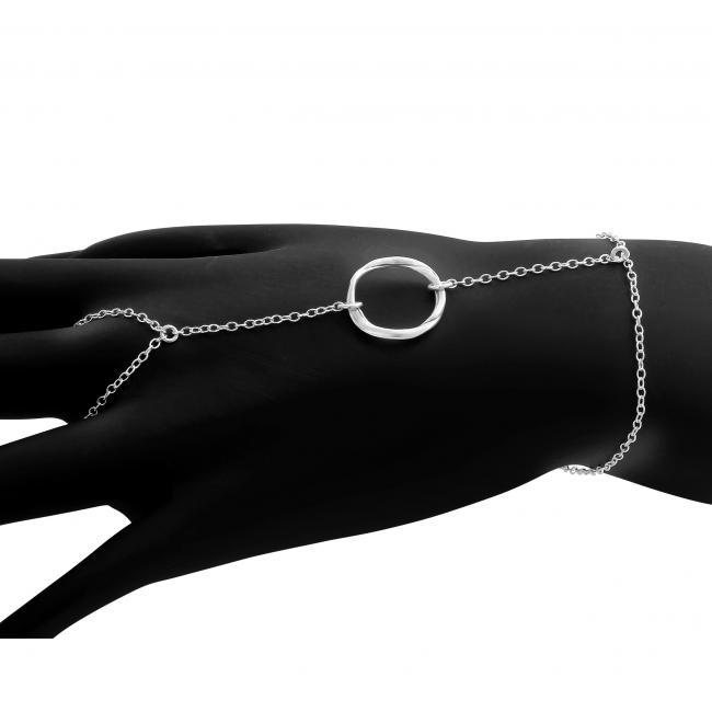 925 sterling silver bracelet Karma Circle
