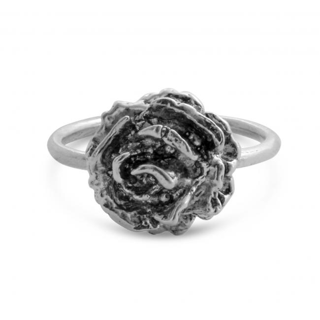 925 sterling silver ring Vintage Rose