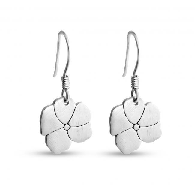 925 sterling silver earrings Blooming Flower