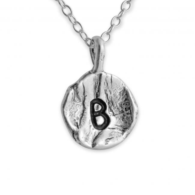 925 sterling silver necklace Letter B Passion Initial