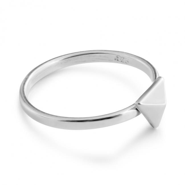 925 sterling silver ring Triangle