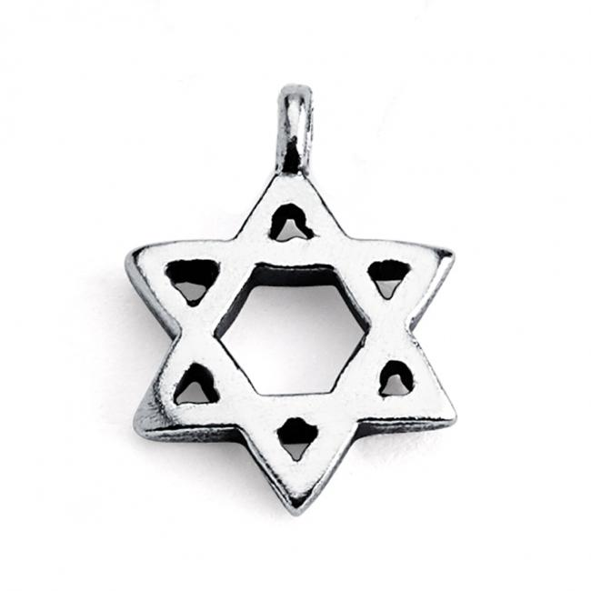 925 sterling silver necklace Star of David Jewish Religious Symbol