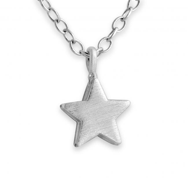 925 sterling silver necklace Tiny Star