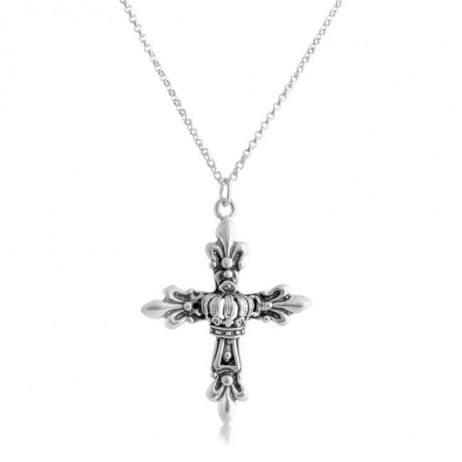 925 sterling silver necklace Royal Cross