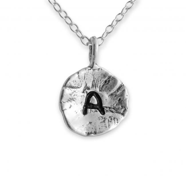 925 sterling silver necklace Letter A Passion Initial