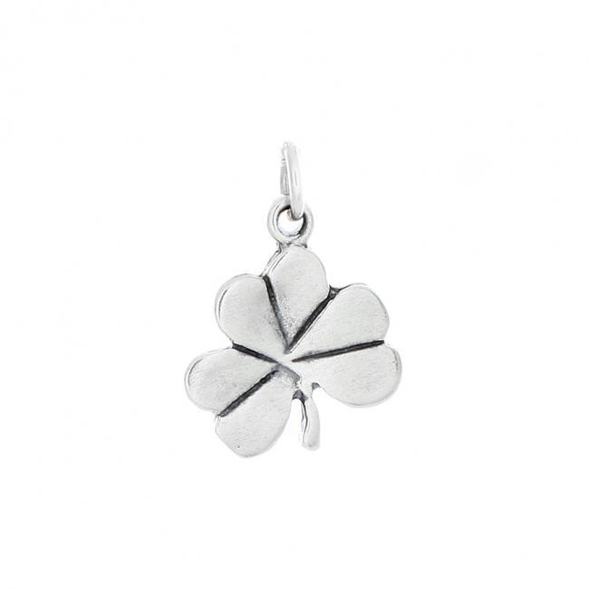 925 sterling silver necklace Shamrock Clover Irish Lucky