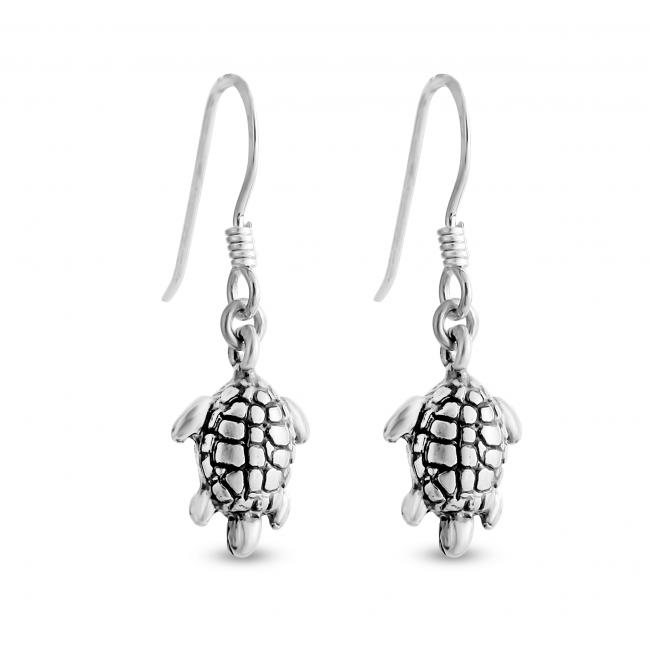 925 sterling silver earrings Tortoise