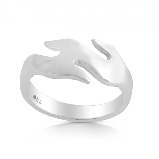 925 sterling silver ring Wave