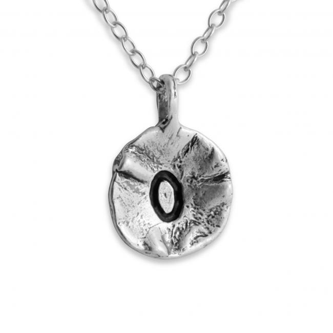 925 sterling silver necklace Letter O Passion Initial
