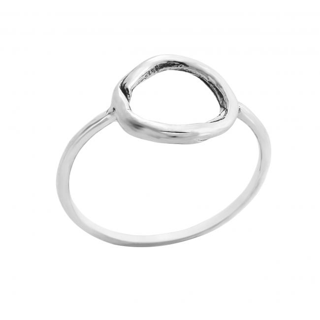 925 sterling silver ring Medium Karma Ring