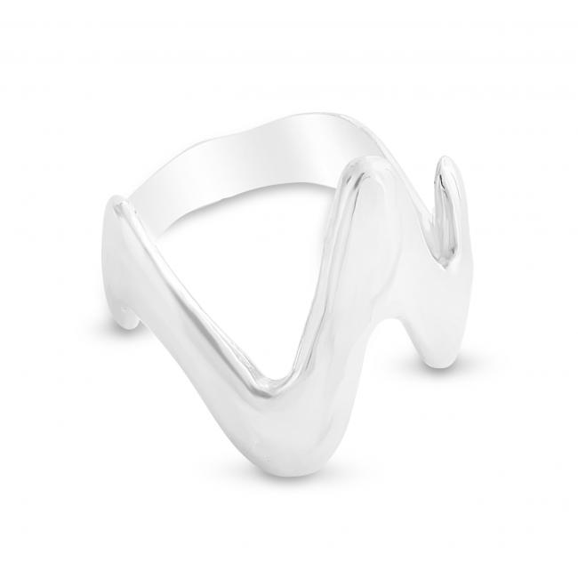 925 sterling silver ring Heartbeat Ring