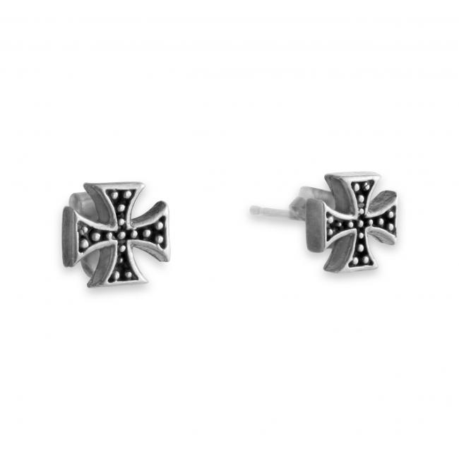 925 sterling silver earrings Independent Cross