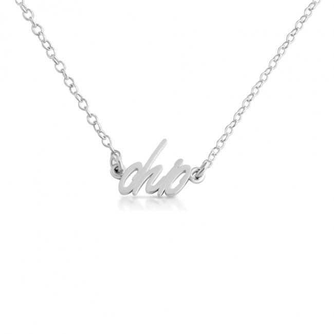 925 sterling silver necklace Ohio State