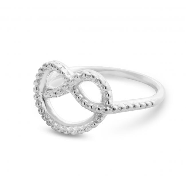 925 sterling silver ring Love Knot