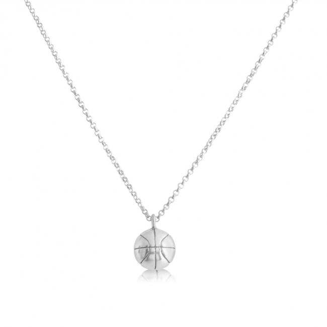 925 sterling silver necklace Basketball Team Sport