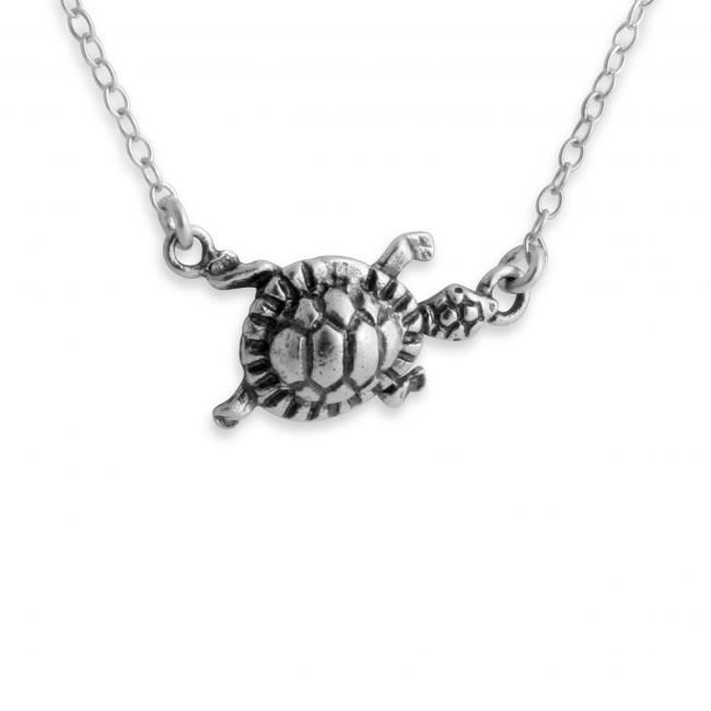 925 sterling silver necklace Turtle