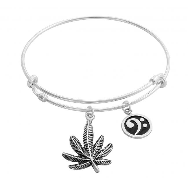 925 sterling silver bracelet Mary Jane Adjustable Wire Bangle