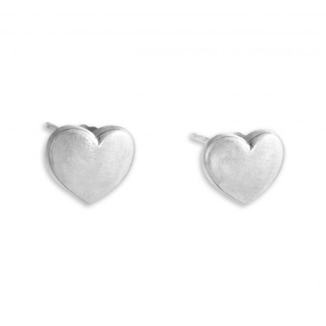 925 sterling silver earrings Heart