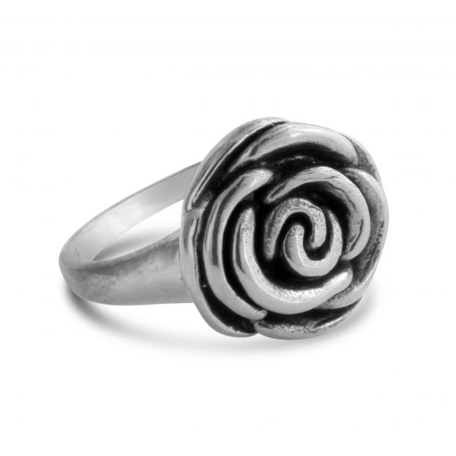925 sterling silver ring Rose