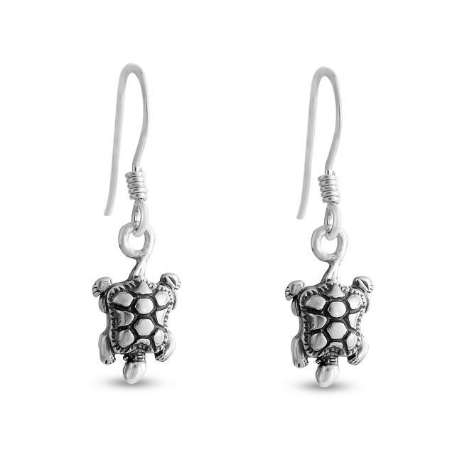 925 sterling silver earrings Tortoise/ Turtle