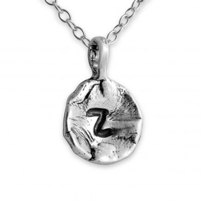 925 sterling silver necklace Letter Z Passion Initial