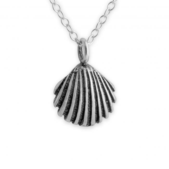 925 sterling silver necklace Sea Shell