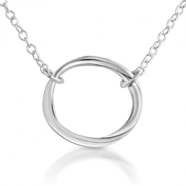 925 sterling silver necklace Karma Ring Circle of Life