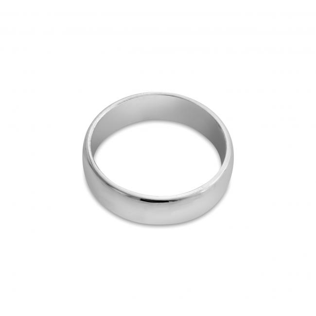 925 sterling silver ring Wedding Band 5mm