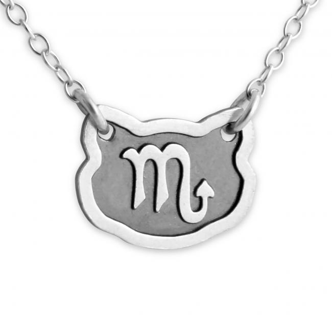 925 sterling silver necklace Scorpio Zodiac Sign