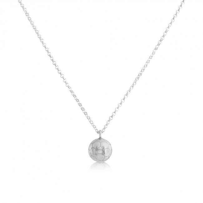 925 sterling silver necklace Soccer Ball Team Sport